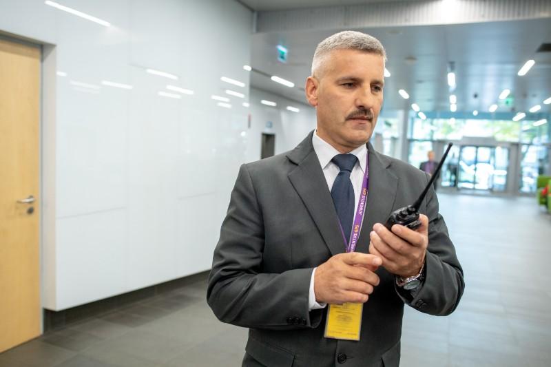 Lider zespołu ochrony