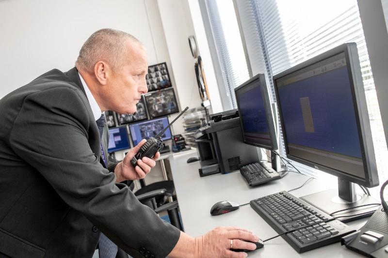 Obsługa systemu monitoringu i przeciwpożarowego